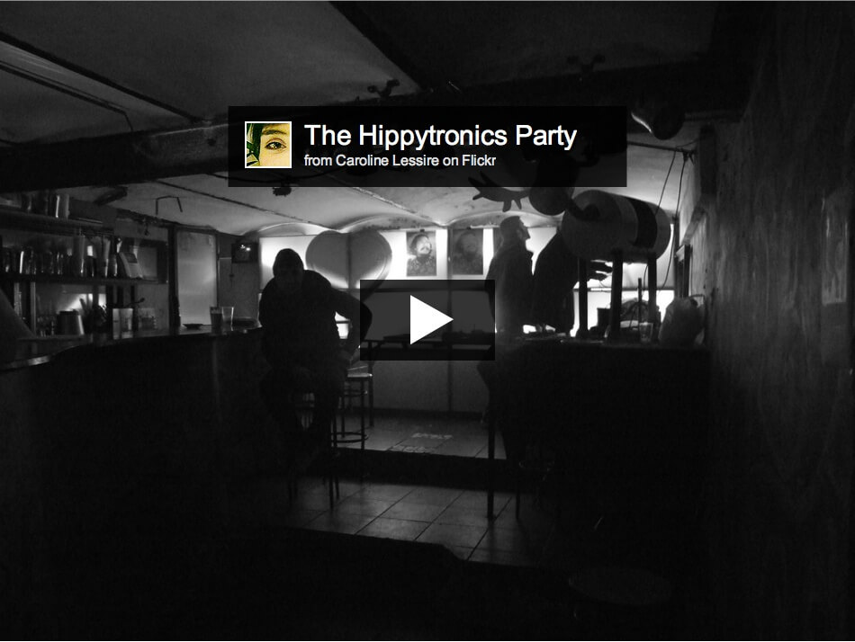 hippytronic party photos